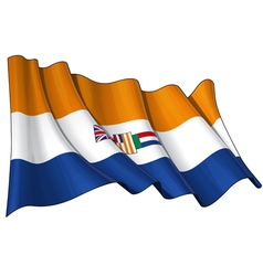 South africa 1928 1994 flag vector