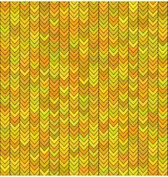 Gold seamless knitted sweater pattern christmas vector
