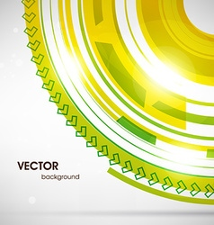 Abstract Machine Background vector image vector image