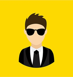 businessman design vector image