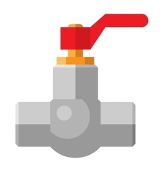 Gas or water crane flat icon vector image vector image