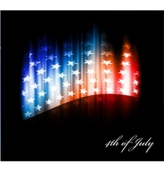 image of american flag vector image vector image