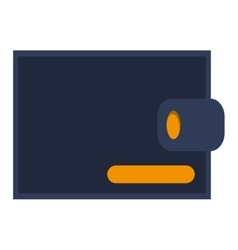 wallet line icon business money vector image
