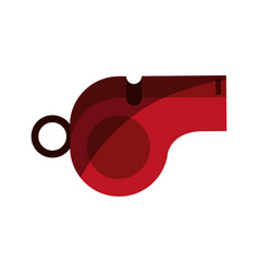 Blow whistle icon image vector