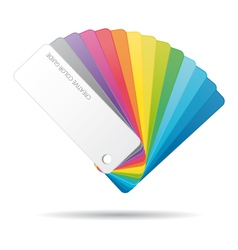 Color guide icon vector