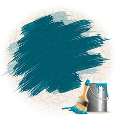 Paint smears vector