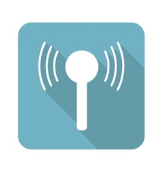 Square signal icon vector