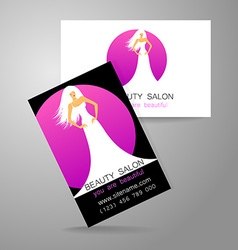 Beauty salon logo vector
