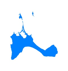 Map of formentera vector