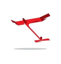 Aeromodelling cartoon vector