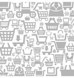 Cart a background vector image vector image