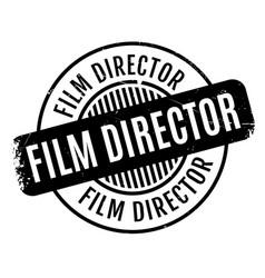 Film director rubber stamp vector