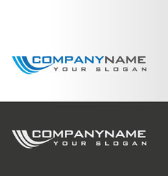 Growing logo design vector
