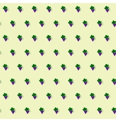 Seamless pattern from the fruit vector image vector image