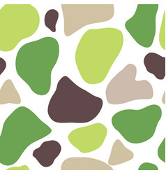 Seamless pattern of spots vector