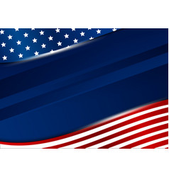 Usa background design on white background vector
