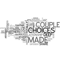 Are you made for each other text word cloud vector