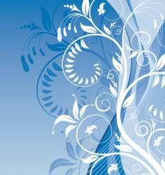 background-flower vector image vector image