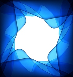 Blue abstract blue background vector image