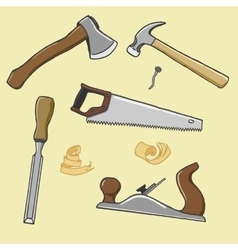 carpenter instrument vector image vector image