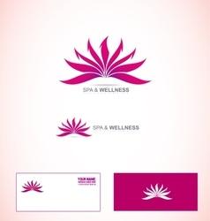 Spa and wellness logo vector