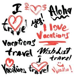 travel 380 vector image