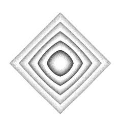 Rhombus shape background vector