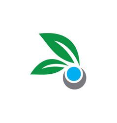 Ecology logo concept vector