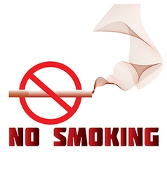 No-smoking vector