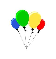 Balloons-380x400 vector image vector image