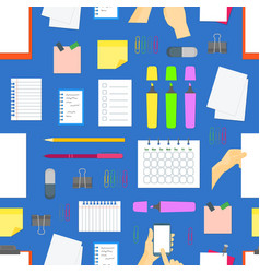 cartoon business color equipment background vector image