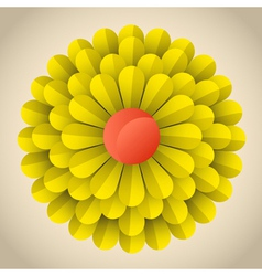 Flower blossom vector image vector image