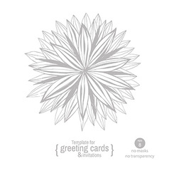 Flowers hand-drawing vector