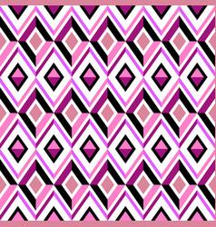 pink diamond pattern vector image vector image