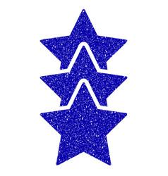 Rating stars icon grunge watermark vector