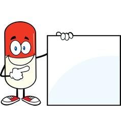 Pill Cartoon vector image