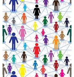 generation diagram people vector image