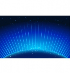 blue glow vector image vector image