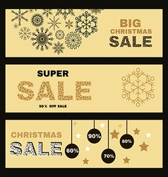 Christmas banner2 vector