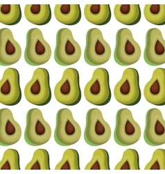 Fresh vegetable pattern background vector