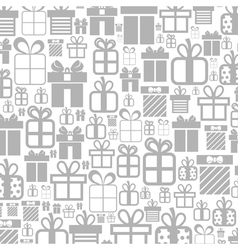 Gift a background vector