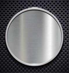 Steel plate Stock vector image vector image