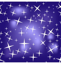 Seamless texture of starry sky vector