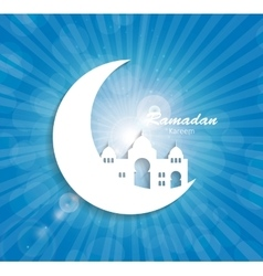 Background for muslim community festival vector