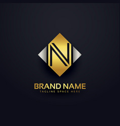 Creative premium logo design template vector