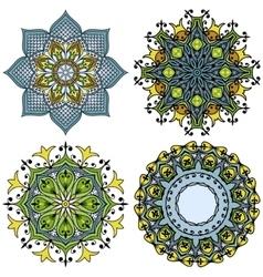 doodle mandala s vector image vector image