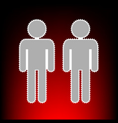 gay family style vector image