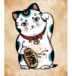 Lucky cat vector