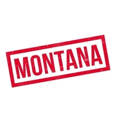 Montana rubber stamp vector image