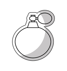 splash fragance isolated icon vector image